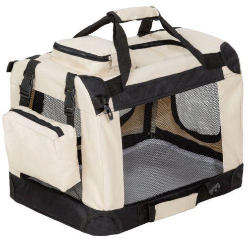 cage sac box panier caisse de transport pour chien chat mobile pliable neuf accessoires pour. Black Bedroom Furniture Sets. Home Design Ideas