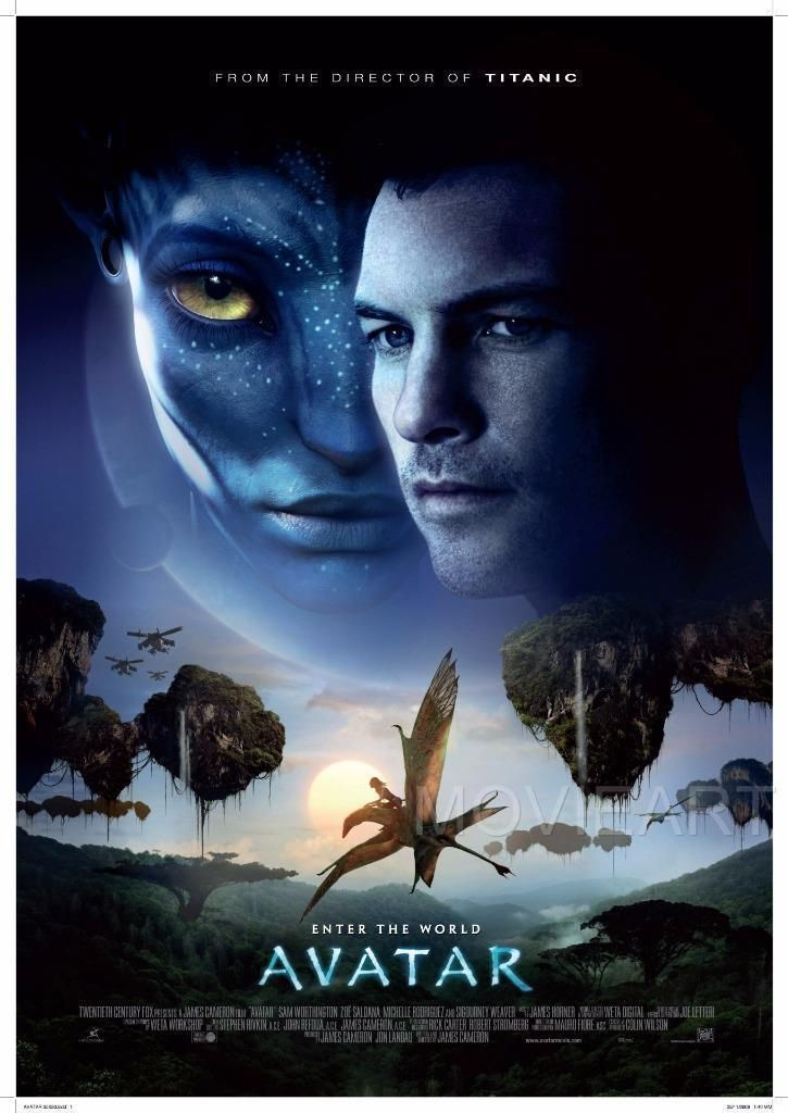Details About Avatar Movie Poster Film A4 A3 Art Print Cinema Avatar Full Movie Avatar Movie Avatar Films