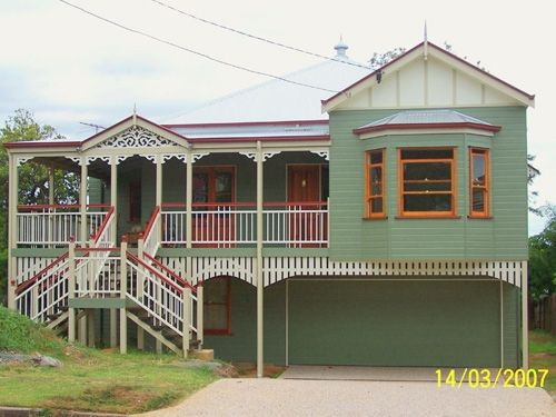 269 best images about house ideas on pinterest house for Classic queenslander house
