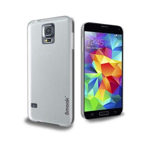 Smaak™ Sleek for Samsung Galaxy S5-  Crystal Clear.For more info visit http://ismaak.com