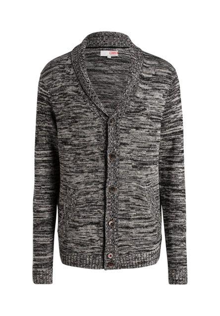 Ein modischer Cardigan sollte in keinem Kleiderschrank fehlen - sowohl zu Shirts als auch zu Hemden lassen sich tolle Looks stylen.-schwarz-grau meliert von MUSTANG bei OUTLETCITY.COM bestellen.