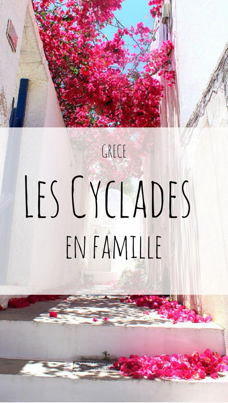 Les Cyclades en famille, guide pratique #voyageenfamille #grece #cyclades #santorin #mykonos #paros #antiparos #sifnos