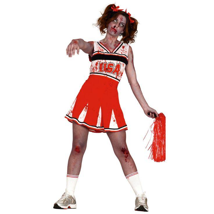 Disfraz de Animadora Zombie #disfraces #halloween