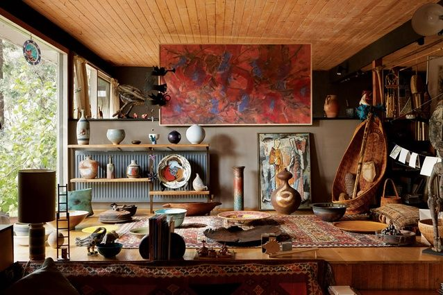 Robin Boyd's King House and Studios in Warrandyte, designed for sculptor Inge King and artist Grahame King, was completed in three stages in 1952, 1955 and 1964. The plan for the first stage of this house is an almost-square rectangle, four bays by three, about 120 square metres. The plan is a little confusing at first glance; it does not have a particularly recognizable figure or clear hierarchy of zones. It seems a bit loose and even empty, like an industrial building. There is one main…