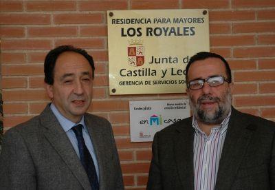 """El Colegio Oficial de Psicólogos de Castilla y León concede el """"Premio Juan Huarte San Juan"""" a la residencia Los Royales de Soria http://revcyl.com/www/index.php/sociedad/item/2622-el-colegio-oficial-de-psic%C3%B3logos-de-castilla-y-le%C3%B3n-premia-a-la-residencia-los-royales-de-soria"""