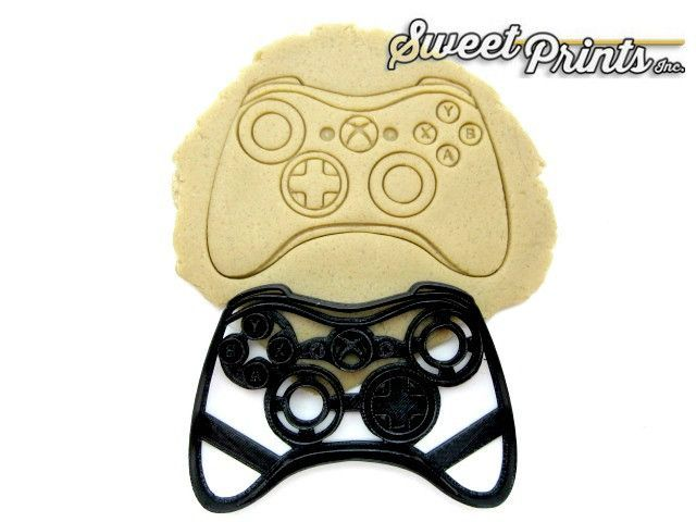 Xbox 360 Controller Cookie/Fondant Cutter/Multi-Size