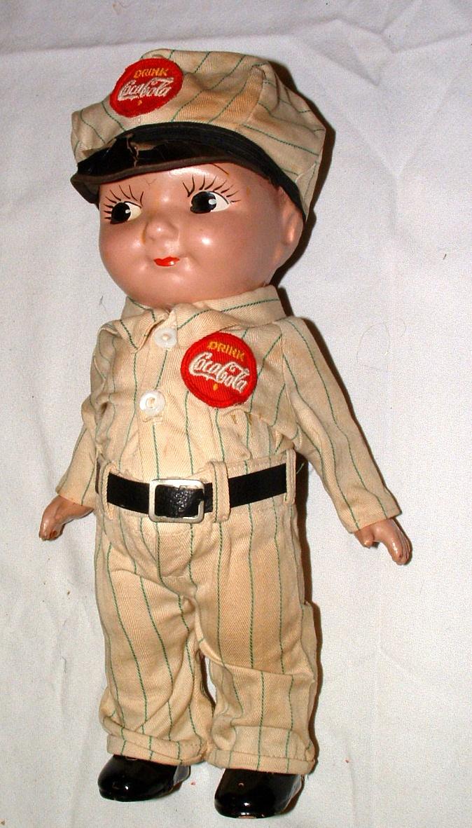 Vintage Coca Cola - 1950s Buddy Lee Doll