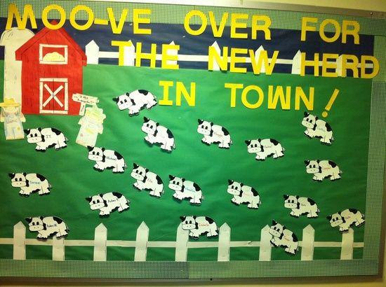 bulletin boards ideas farm animals   ... decorating ideas back to school bulletin boards classroom ideas