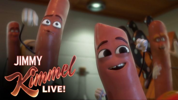 "Seth Rogen's Animated Movie ""Sausage Party"""