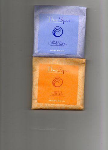 Detoxifying Bath Salts (2 packets--Citrus & Lavender) by The Spa at Grove Park Inn Resort. $5.95