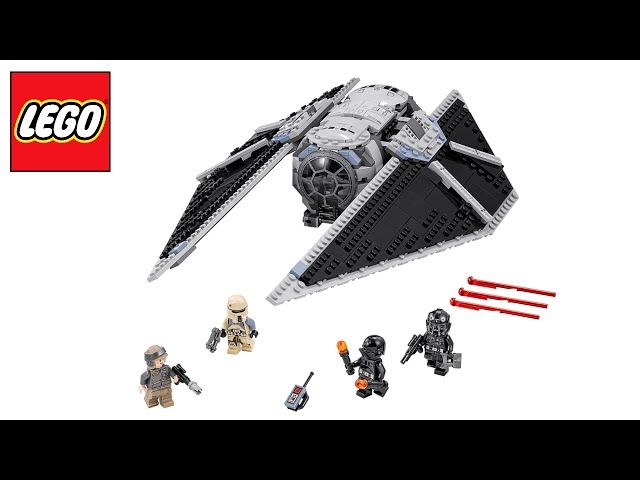 LEGO Star Wars 75154 'Tie Striker' Pre-Review! (ROGUE ONE!) - Video --> http://www.comics2film.com/lego-star-wars-75154-tie-striker-pre-review-rogue-one/  #StarWars