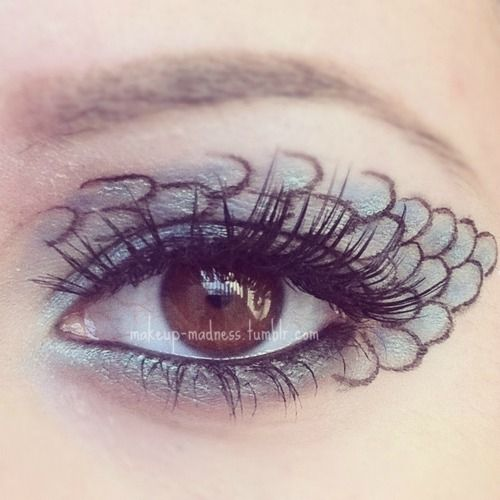 Hunger Games Series - District 4: Fishing    makeup-madness.tumblr.com