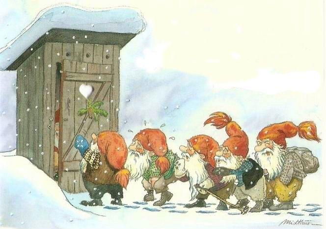 Kjell Einar Midthun est un illustrateur norvégien né le 26 juillet 1954. Il est surtout connu pour ses oeuvres dans le milieu du livre jeunesse mais également pour ses cartes postales et dessins de Nisses, ces lutins norvégiens souvent associés à la période de Noël. Voici quelques unes de ses œuvres…  Sur le même … … Lire la suite →