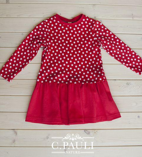 Deux robes en jersey pour les enfants proposée par C. Pauli . Les patrons sont disponibles de la taille 86/92 à 122/128, version (rouge) ou version (pomme) . Le tutoriel (en allemand faire clic droit sur la page puis traduire en français) est détaillé...