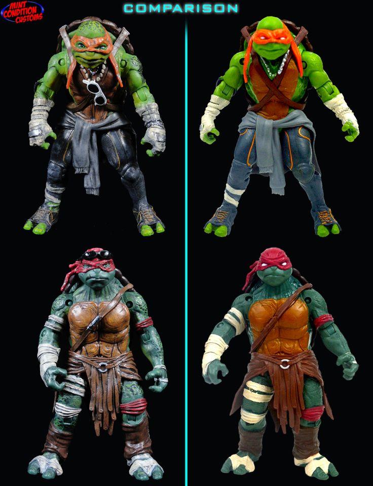 Where Can I Find Ninja Turtle Toys : Best ninja turtles movie action figure images on