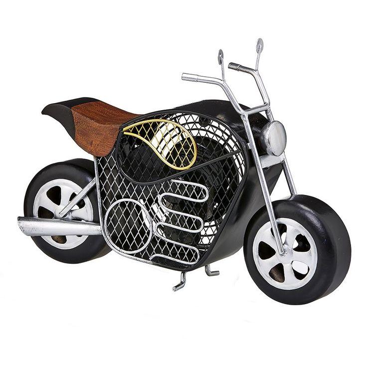 Deco Breeze Motorcycle Figurine Fan