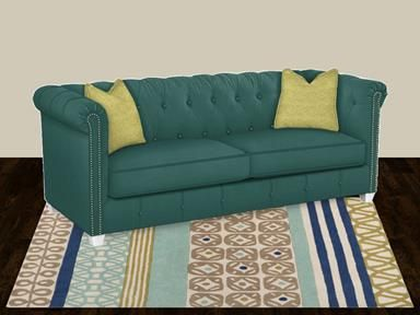 Shop For Klaussner Beech Mountain Sofas D45210 S And Other Living Room Sofas At Furniture