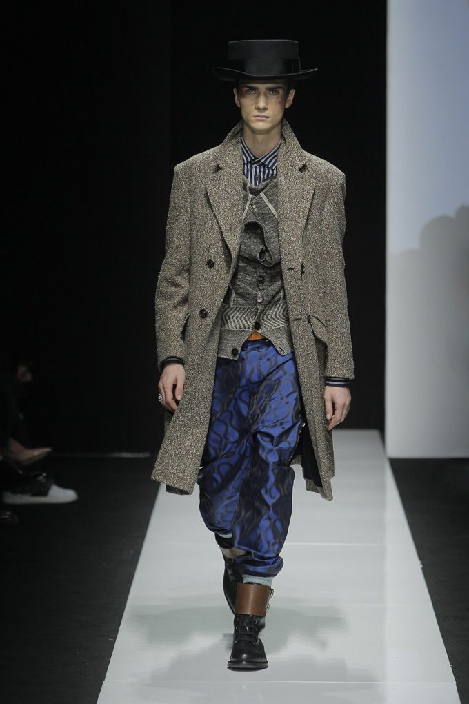 Look 10 at Vivienne Westwood #AW1516 MAN