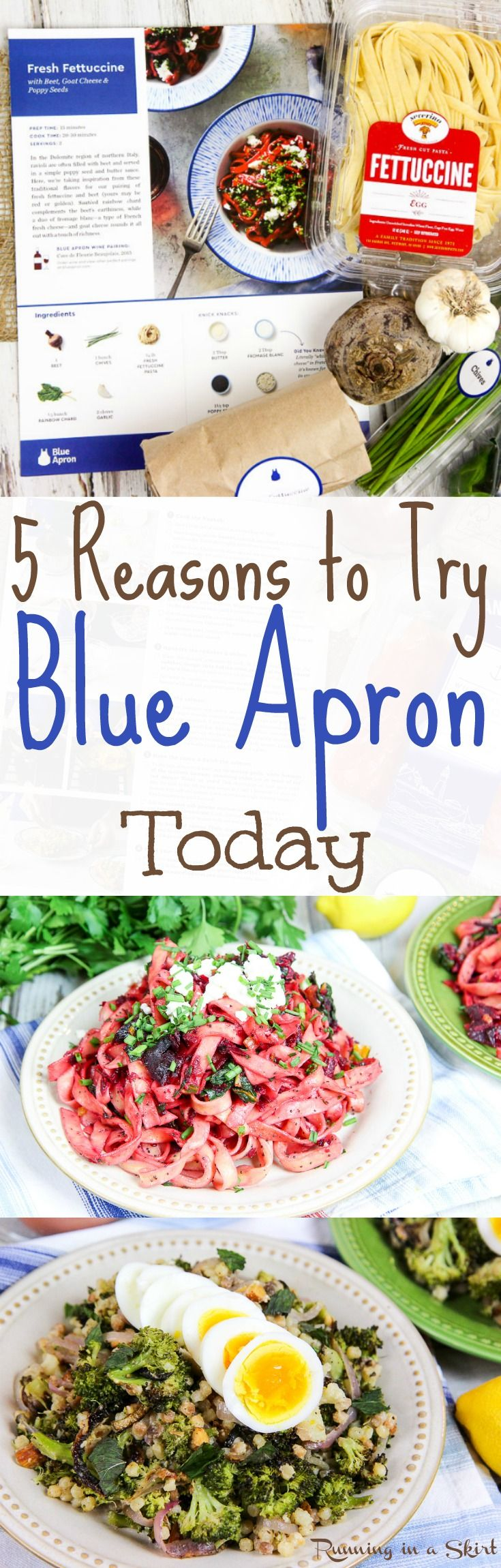 Blue apron edmonton - 5 Reasons To Try Blue Apron Today An Honest Review Of The Food Delivery Box
