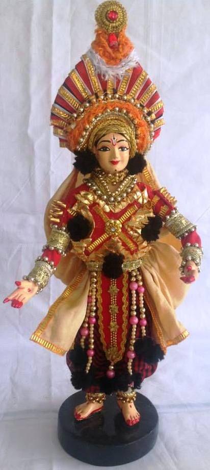 Yakshagaana Dancer- Karnataka