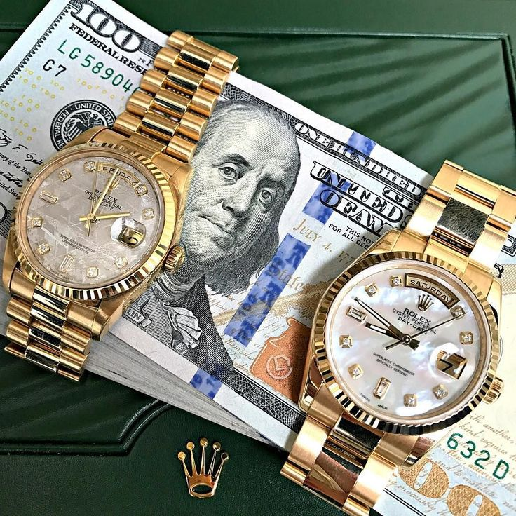 Rolex Presidential! Pearl or Meteorite dial?? Which one would you take? Contact us to Purchase