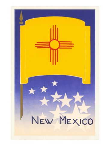 Flag of New Mexico Posters at AllPosters.com