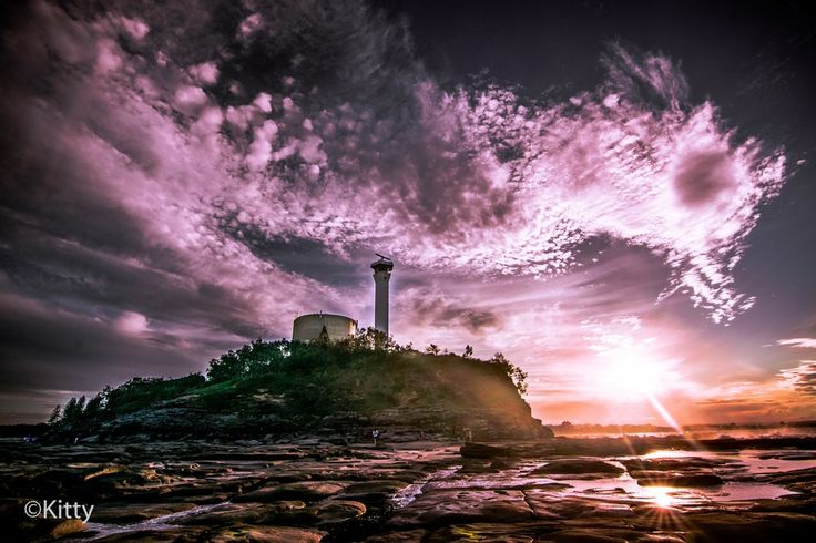 Lighthouse atop the Cliff