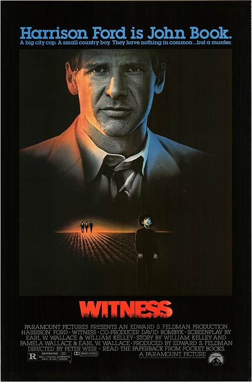 witness amish and weir It was a small-town australian critic who first noted the cunning use that peter weir makes of glances--capturing on film the way a man and woman look at each other when they're attracted.