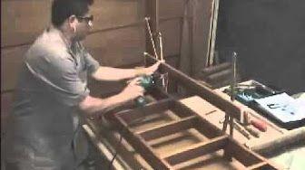 como fazer escada para alçapão - YouTube