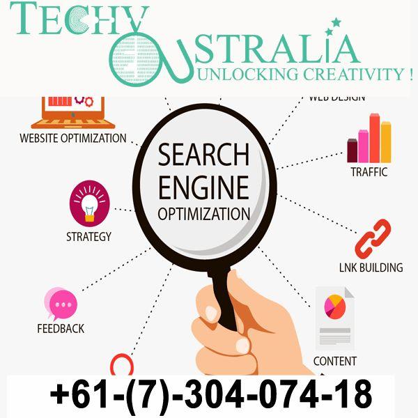 +61-(7)-30-40-74-18 - Techy Australia-  Organic SEO Ranking