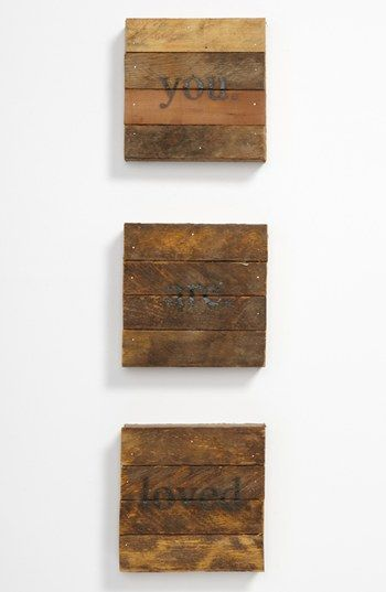 Repurposed Wood Wall Art | Nordstrom
