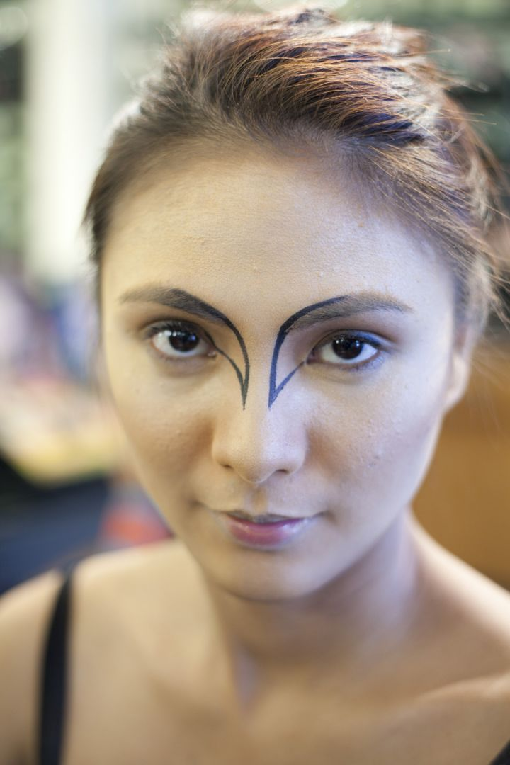 Check out Halloween Makeup ideas, like this one from Black Swan. Refinery29.com shares these MAC Halloween makeup ideas, from the pros.