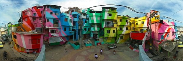 Haas & Hahn Make Favelas Kaleidoscopic « The FADER