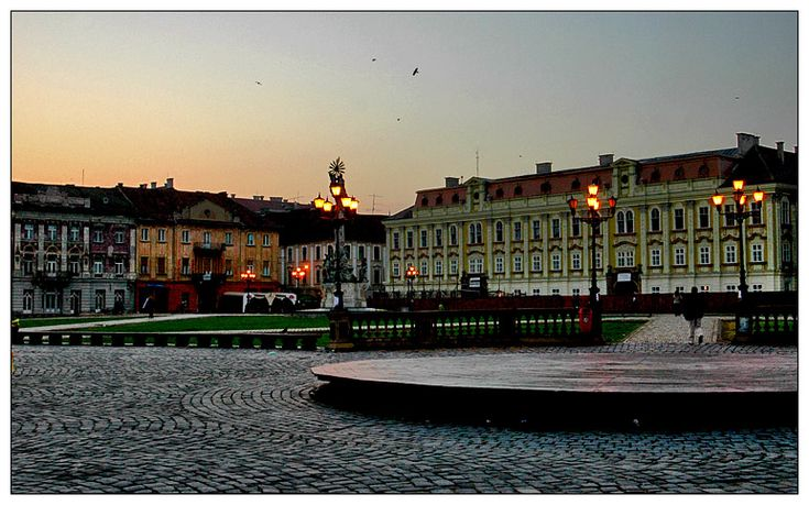 Piata Unirii in Timisoara, Romania. (i guess in English that would be Unity Plaza).