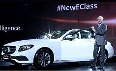 2017 Mercedes-Benz E-class Launched in India; Priced at INR 56.15 lakh