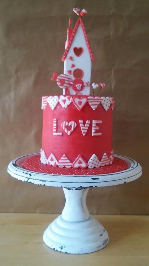 267 best Love cake images on Pinterest | Valentine cake, Heart ...
