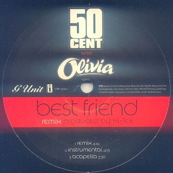 """50 Cent, """"Best Friend"""" 