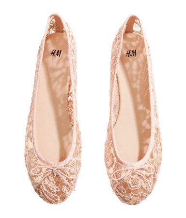 Lace Ballet Flats   H&M US