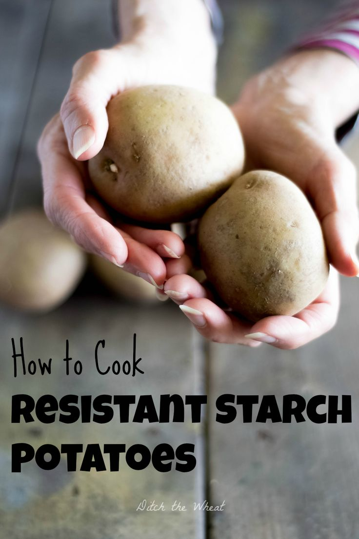Potato starch for weight loss
