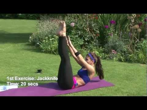 Quick 5 minute ab workout. Jack Knife Russian Twist. No equipment needed.