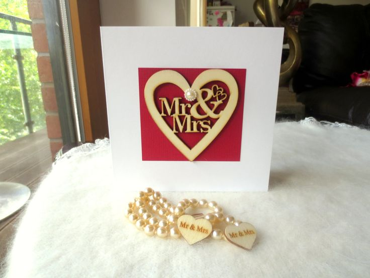 1st,2nd,3rd,4th,5th,6th,7th,8th,9th,10th,15th,20th,25th wedding Anniversary card,Wedding,Anniversary,engagement Mr&Mrs card personalised . by FyneHandmadeCards on Etsy