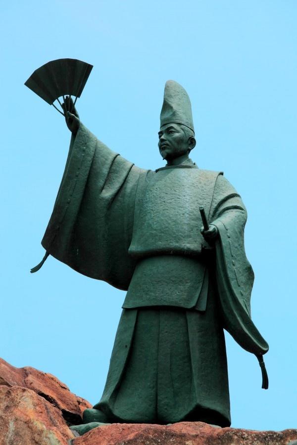 Kiyomori Taira #kure #hiroshima #japan 【平清盛公日招像】呉市