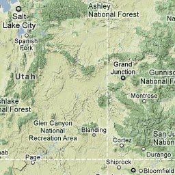 ATV trails map, Utah