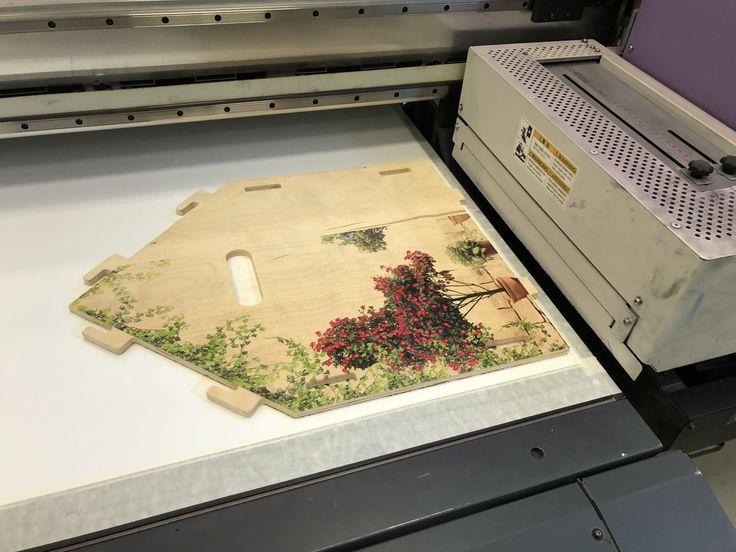 технология печати фото на дереве