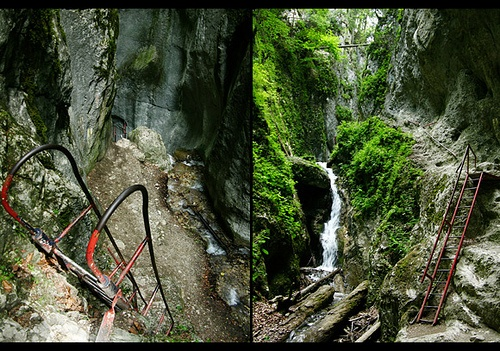 7 Stairs Canyon - Brasov county, ROMANIA.
