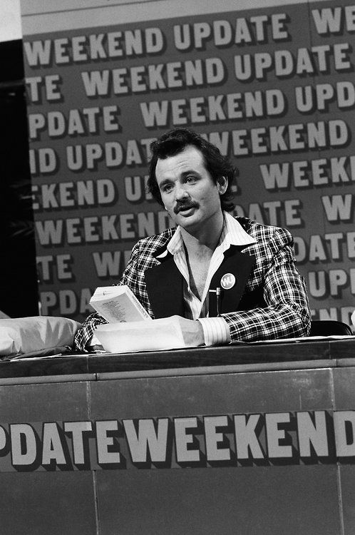 "Bill Murray ""Weekend Update"" on Saturday Night Live"