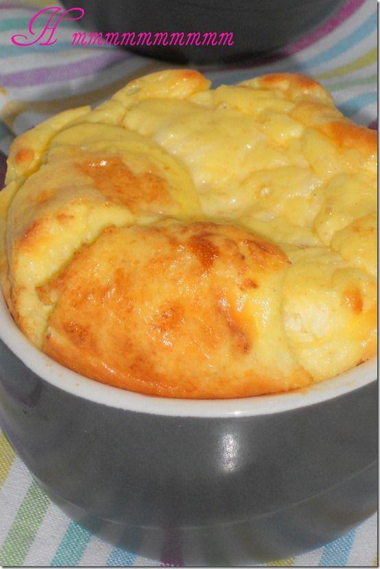 soufflé au fromage inratable et délicieuse