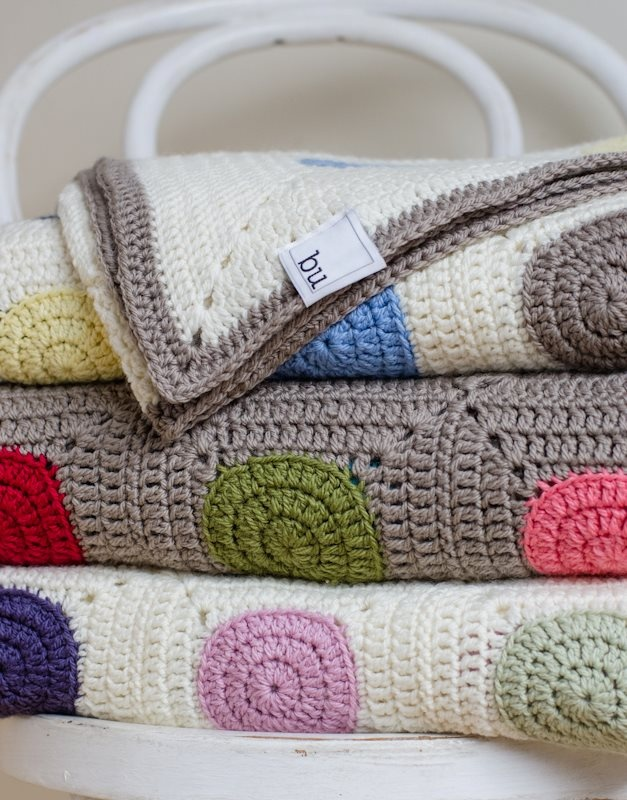 """Our new brand of fair trade blankets being launched next month, """"bu"""". Made in our fair trade workshop from the highest quality Australian wool."""