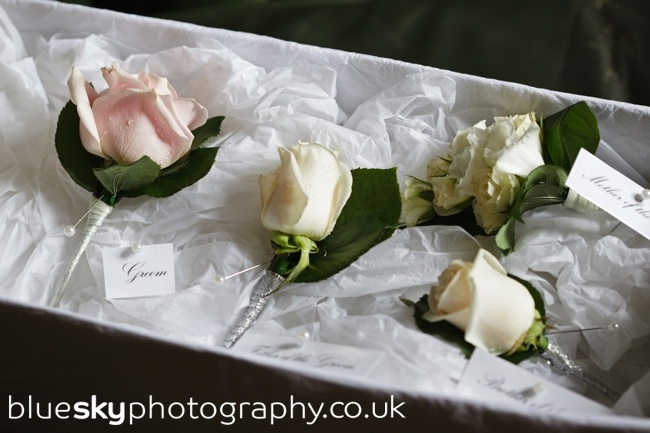 Rose Buttonholes by Roseparks