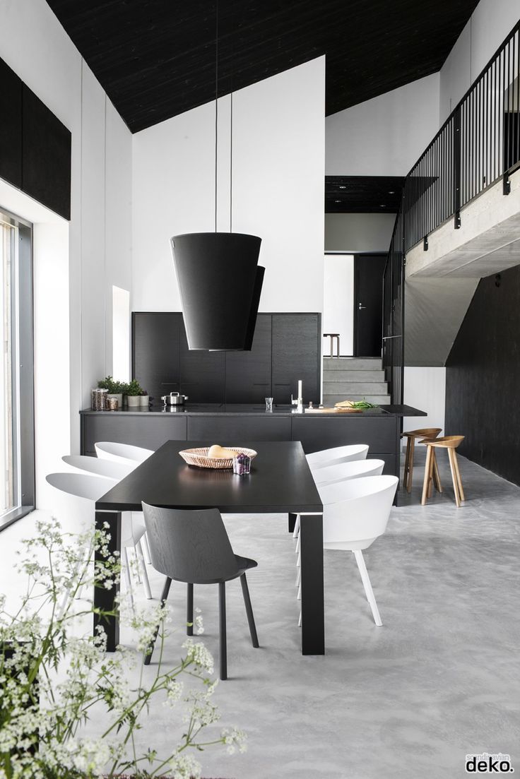 Modern black and white dining room - New Collection 2015 Of Contemporary Dining Room Sets And Furniture With Effective Ideas To Create Stylish Dining Room In Modern Style To Have One Of Special